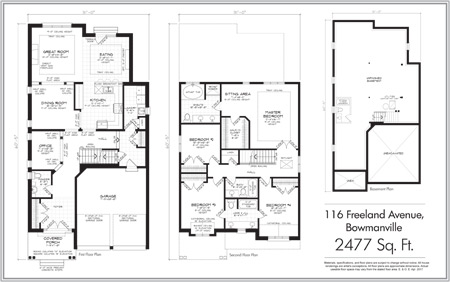 Freeland Home floorplan quick closing